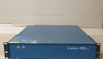 Cisco Catalyst 2900 WS-C2900 Rack Mount Modular Network Router Chassis Only