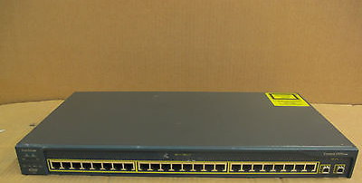 Cisco Catalyst 2950 WS-C2950C-24 24 Port Ethernet 2 x GBIC Port Switch