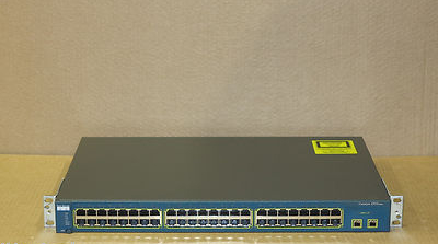 Cisco Catalyst 2950 WS-C2950SX-48-SI 48-Port Fast Ethernet Switch CCNA CCNP
