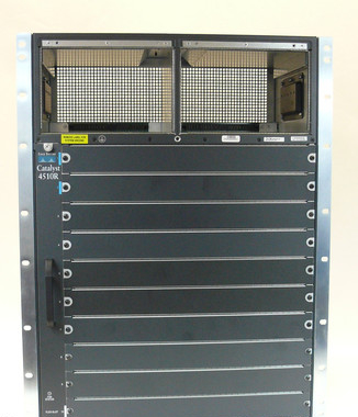 Cisco Catalyst 4510R WS-C4510R 6513 Chassis With Fan module