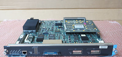 Cisco Catalyst 6500 WS-X6K-SUP1A-2GE Supervisor Engine Module Card Blade