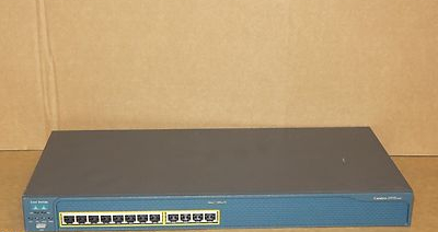 Cisco Catalyst WS-C2950-12 12-Port Fast Ethernet Network Switch - No Rack Ears