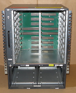 Cisco Catalyst WS-C6509-E Modular Switch Chassis With Fans 6500 Series 6509
