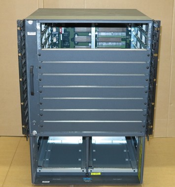 Cisco Catalyst WS-C6509 Modular Switch Chassis With Fans 6500 Series 6509