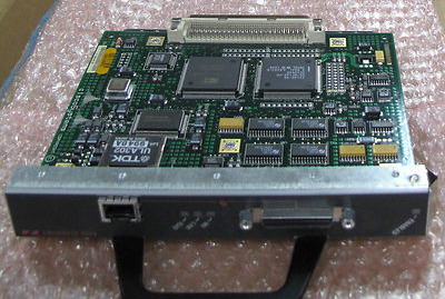 Cisco Fast Ethernet Module Card, Switch Module P/n 16410941