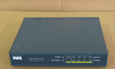 Cisco PIX 501 Network Firewall Security Appliance PIX-501-BUN-K9 CCNA CCNP CCIE