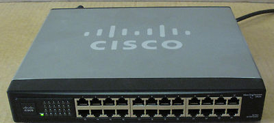Cisco Small Business SR224 24-Port 10/100 Ethernet Unmanaged Switch,  Networking