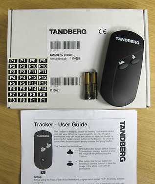 Cisco Tandberg Tracker Infrared Remote Control Video Camera Conferencing 1116691