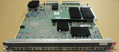 Cisco WS-X6724-SFP 24-port Gigabit Ethernet Module With WS-F6700-CFC Card