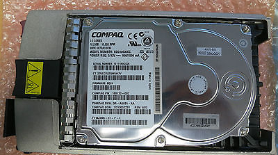 Compaq 18.2GB Wide ULTRA3 SCSI 10K RPM Universal Hot Plug Hard Drive BD018635CC