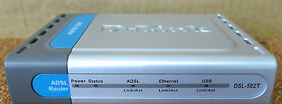 D-link express ethernetwork dsl-502t 10/100 wired router (dsl-502t.