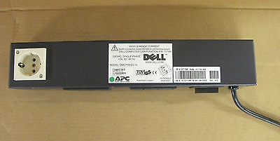 DELL APC DM07RM-EC16 230VAC PDU 7174R 13A 6-Port Kettle Sockets 50/60Hz