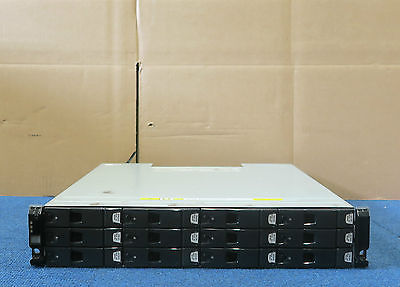 Dell Compellent Series 30 HB-1235 12 Bay SAS Enclosure 12x600GB 15 2x Controller