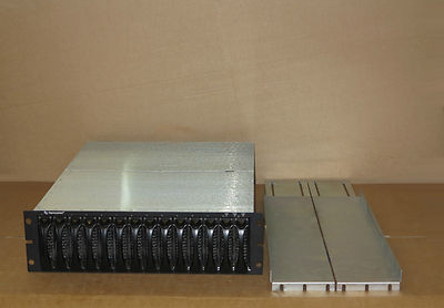 Dell EqualLogic PS400e SAN 3.5Tb Storage Array,14 250Gb HDD, 2 Controllers