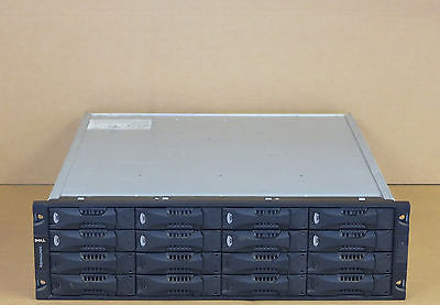 Dell EqualLogic PS5000E Virtualized iSCSI SAN Storage Array - 2 Controllers, 5Tb