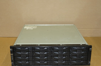 Dell EqualLogic PS5000XV Virtualized iSCSI SAN 4.8Tb Storage Array 2 Controllers