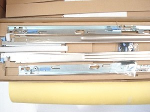 Dell PowerEdge 1950 Rapid Rack Mount Rail Kit K8743 NEW