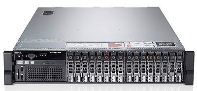 Dell PowerEdge R820 4x6-CORE XEON E5-4617 384GB RAM 2u Rack Mount Server 24 Core