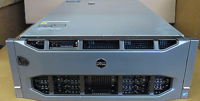 Dell PowerEdge R910 32-XEON Cores 4 x 8 Core E7-4830 512GB RAM Rack Mount Server