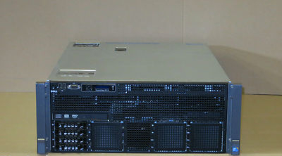 Dell PowerEdge R910 32-XEON Cores 4 x EIGHT-8C Procs 256GB RAM Rack Mount Server