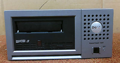 Dell PowerVault 110T NP888 LTO3-EX1 Ultrium LTO3 External Tape Drive