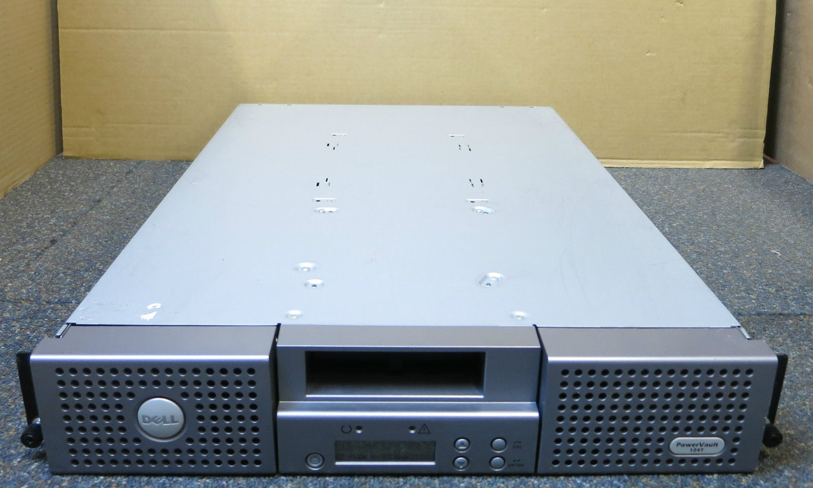DELL POWERVAULT 124T AUTOLOADER DRIVERS WINDOWS 7