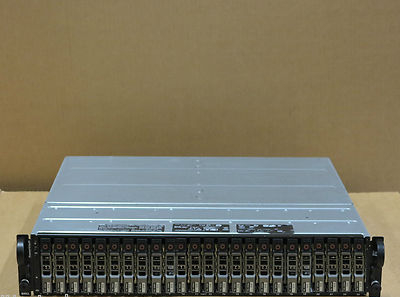Dell PowerVault MD1120 SAS Storage Array 24x 146Gb 15K Hard Drives 2 Controllers