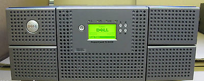 Dell PowerVault TL4000 2 x LTO-4 4GBps FC Library Autoloader Backup Data