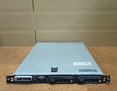 Dell Poweredge 1750 2x Xeon Dual Core 2.80GHz 4GB 2x 73GB 10K SAS 1U Rack Server