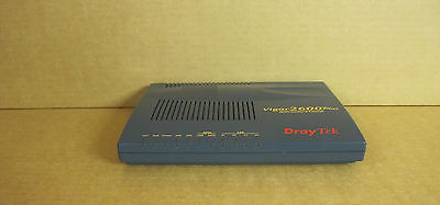 Draytek Vigor 2600 Plus 4 Port ADSL 54Mbps Router & Firewall