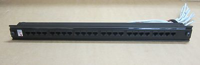 Enhanced Net 24 Port - Ethernet Port Network Patch Panel - 1U Rack Mount