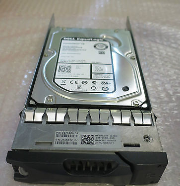"EqualLogic 500GB 7.2K 3Gbps 3.5"" Hard Drive 6VVK7 9YZ162-236 FW P002 ST500NM011"