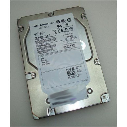 EqualLogic 600Gb 15k SAS HDD 00VX8J 0VX8J EN03 9FN066-057 Drive *no caddy*