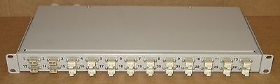 Fibre Channel 24-Port LC Rack Mount Grey Patch Panel - Fibre Optic Network