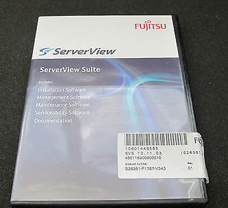 Fujitsu ServerView Suite DVD Management Serviceability - S26361-F1767-V343