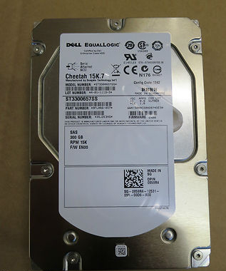 HDD 300Gb Dell EqualLogic 15K.7 PN 959R4 EqualLogic Firmware EN00