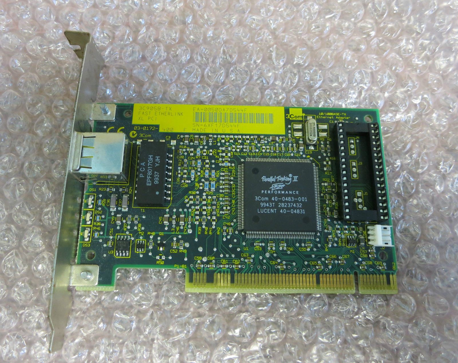 3Com EtherLink 10/100 PCI For Complete PC Management NIC Download Drivers