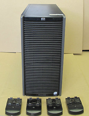 HP ProLiant ML350 G5 Tower Server - XEON Quad Core 2.33GHz, 6Gb, 2x 500 1x 80Gb