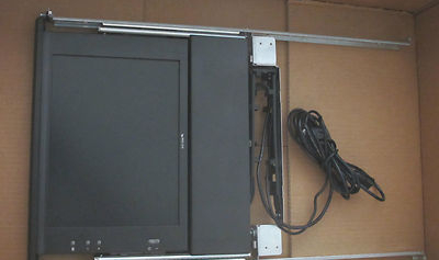HP TFT5110R Rackmount Flat Panel 15-inch Monitor 1U Retractable