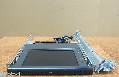 "HP - TFT5110R Rackmount Server Console 1U Flat Panel 15"" Monitor With Rails"