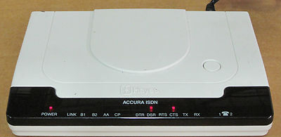 Hayes Accura ISDN S/T Terminal Adapter, Enterprise Router Components P/n XZ01EU