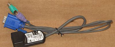 IBM 250mm KVM Conversion Cable Cat5 39M2910 39M2900 520-278-511