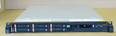 IBM Lenovo RD210 2 x Quad-Core XEON X5560 24GB R 3x 300Gb 10k Server ThinkServer