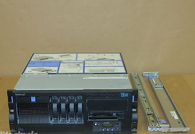 IBM System P5 520 4U Rackmount Server 9131-52A  2-Way 2.1GHz p5+ 8Gb 4x 73Gb