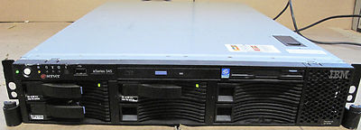 IBM X345 2U Server 2x XEON 2.4Ghz,2.5Gb RAM,3 x 36.4Gb SCSI 10k Hard Drives