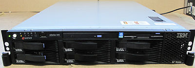 IBM X345 2U Server 2x XEON 3.2Ghz,2Gb RAM,6 x 36.4Gb SCSI 10k Hard Drives