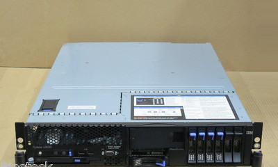 IBM X3650 2U Server 2x DUAL-Core XEON 2.33Ghz, 4Gb RAM, DVD Combo, 5x 73Gb