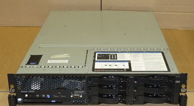 IBM X3650 2U Server 2x DUAL-Core XEON 2.66Ghz 4Gb RAM DVD Combo 4x 300Gb 2x 36Gb