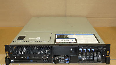 IBM X3650 2U Server 2x DUAL-Core XEON 2.66Ghz, 4Gb RAM, DVD Combo, 6x 73Gb