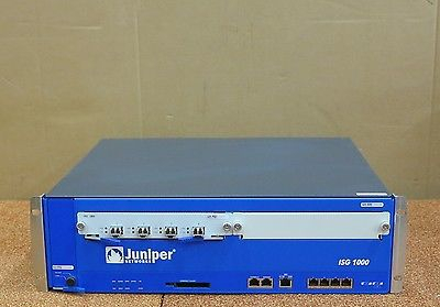 Juniper ISG1000 Firewall Integrated Security Gateway Appliance NS-ISG-1000-C